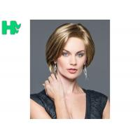 Wholesale Silk Straight Short Heat Safe Synthetic Wigs No Shedding Professional from china suppliers