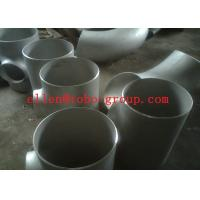 Wholesale Stainless Steel Tee ASTM A234 GR WPB , ST37.2 , ST35.8Din 1.4301 , 1.4306 , 1.4401 , 1.457 from china suppliers