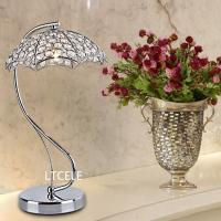 Wholesale Modern LED Table Lamp For Bedroom Living Room Reading Room lamparas de mesa crystal table lamp abajur para quarto from china suppliers