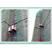 Quality Rack And Pinion Twin Cage Industrial Elevator Lift For High Rise Building Construction for sale