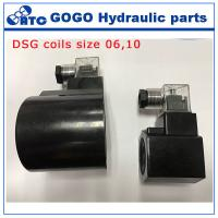 Wholesale DSG valve Hydraulic Control Parts 12V dc solenoid coil size 6 size 10 from china suppliers