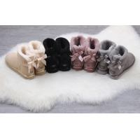 Wholesale ugg female shoes UGG 1019032 UGG 1019032 metal bright leather bag single bow ribbon waterproof fur one spot 35-40 from china suppliers