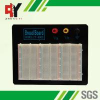 Wholesale Black Plate ABS Plastic Prototyping Breadboard With Color Printed from china suppliers