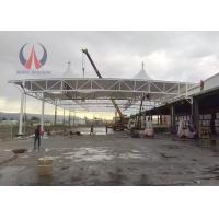 Wholesale Eco - Material Pagoda Shade Shelter Canopy , Gas Station Canopy With PVDF Membrane Sail from china suppliers