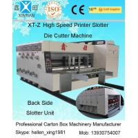 Wholesale 380V Stable Carton Packing Machine With Die Cutter / Corrugated Case Flexo Printer from china suppliers