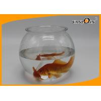 Wholesale Pet Products 2800ml/93OZ Plastic Fish Bowl Aquarium Tank Mini Elegant Table Accessories from china suppliers