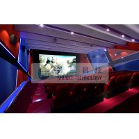 Wholesale Attractive 4d simulator cinema , 3D 4d 5D 6D movie with flat / arc screen for Theme park from china suppliers