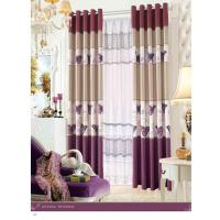 Wholesale Custom Polyester Lace Contemporary Ready Made Curtains Insulated Blackout Window Curtain from china suppliers