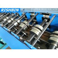 Wholesale G.i Coil / Carbon Steel Track Door Frame Roll Forming Machine with Hydraulic System from china suppliers