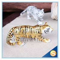 Wholesale Animal Tiger Pewter Trinket Box from china suppliers