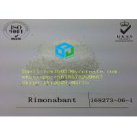 Wholesale 99% Purity Rimonabant Pharmaceutical Raw Material Weight Loss Steroids CAS 168273-06-1 from china suppliers