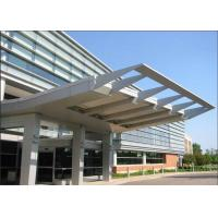 Wholesale Architectural Exterior Aluminum / Aluminium Sun Shades 8 - 10 Years Warranty from china suppliers