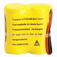 Quality 3V Lithium Cylindrical Battery with 1,600mAh Nominal Capacity and 3,000mA Maximum Pulse Current for sale