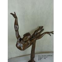 Wholesale Abstract bronze dancing girl sculpture from china suppliers
