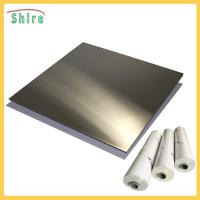 Wholesale Metal Wire Drawing Board Pvc Cling Film , Self Adhesive Pvc Film Roll Anti Dust from china suppliers