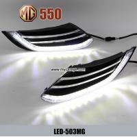 Wholesale MG 550 DRL LED Daytime driving Lights turn signal indicators upgrade from china suppliers