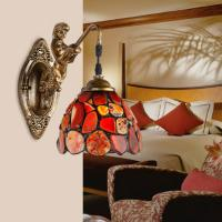 Wholesale Imitation classical style glass+bronze LED bathroom bedside lamp(BL2023A) from china suppliers