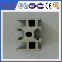 Wholesale Industrial aluminium alloy track profiles, OEM design U Shape Extruded aluminium track from china suppliers