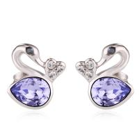 Wholesale Ref No.: 406032 little Swan Elements Swarovski triumphal earrings buy jewellery online india bib jewelry from china suppliers