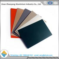 Wholesale Roofing Panel Color Coated Aluminium Alloy Sheet 1100 1060 1050 H24 / H14 0.6mm from china suppliers
