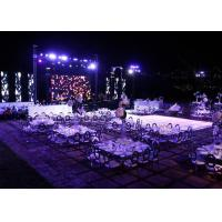 Buy cheap P4 Full Color Wedding Background rental LED Stage Display  Screen panel with 512*512mm die-casting aluminum cabinet from wholesalers