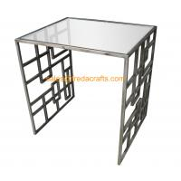 Wholesale High Standard Metal Frame Gold Finish Tempered Glass Top Coffee Table from china suppliers
