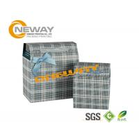 Wholesale Glossy Coating Printed Trapezoid Custom Gift Boxes with Bowtie from china suppliers