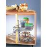 Buy cheap Carousel Set|Lazy Susan|Dish Tray|Swivel Basket XT-D75/G18|XT-D85/G18 from wholesalers