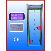 Wholesale Walk-through Metal Detector,Door frame metal detector, JLS-8008(8 Zones&LCD display) from china suppliers
