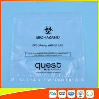 Wholesale Leak Proof Soft Specimen Transport Bags For Transporting Lab Specimens from china suppliers