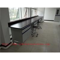 Wholesale 1500 mm   Width  Steel Wood Frame Blue /  White Science Laboratory Cabinets   Furniture For High School / Hospital from china suppliers