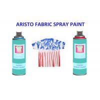 Wholesale Non toxic UV Resistance Fabric Spray Paint for Clothes , Waterproof Liquid Paint Spray from china suppliers
