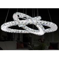 Wholesale 58W  3 Circles Contemporary Pendant Lighting 58w Led K9 Crystal For Bars from china suppliers