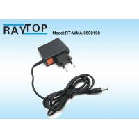 Wholesale 50Hz / 60Hz EU Plug 5V 1000mA Ac To Dc Power Adapter With 1.2M DC Cable from china suppliers