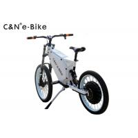 Wholesale Enduro Full suspension 72V8000W rear hub motor with motorcycle rim stealth bomber ebike from china suppliers