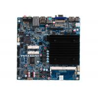Wholesale Dual Gigabit LAN fanless industrial Motherboard with COM , USB3.0 , Mini-Itx Mainboard from china suppliers