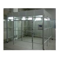 Wholesale Aluminum Positive Pressure Soft Wall Clean Room Vertical Laminar Flow Booth from china suppliers