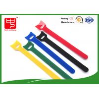 Wholesale Durable T shape hook and loop cable tie roll  nylon material 150 * 12mm from china suppliers