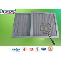 Quality Pre Efficiency Aluminum Frame HVAC Air Filters with Aluminum Mesh Washable Air Filter for sale