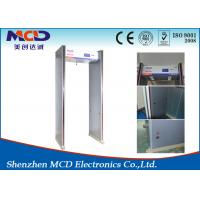 Wholesale 6 Zone Door Portable Walk Through Metal Detector Gate For Security Inspection from china suppliers