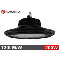 Quality 130LM / W IP65 Philips UFO LED High Bay 200W 5 Years Warranty for sale