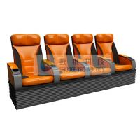 Wholesale Simulative 4D Theater Seats with hydraulic / pneumatic / Electrical control system from china suppliers
