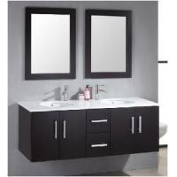 Quality Classical Double Sinks Wooden Bathroom Vanity (BL-S8109) for sale