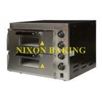 Wholesale Nixon baking equipment high quality electric industrial pizza oven PE2PT from china suppliers