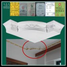 Buy cheap Chinese interior decorative gypsum plaster corner decorations from wholesalers