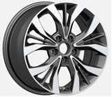 Wholesale 5 Hole 18 Inch Alloy Wheels Polishing Black Wheel For Hyundai from china suppliers