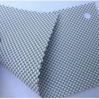Wholesale white with gray color textilene 80 UV solar screen wholesale textilene fabrics from china suppliers