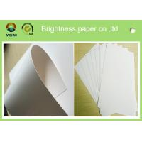 Wholesale White Wood Pulp Jewellery Box Cardboard , One Side Coated Gift Box Paper from china suppliers