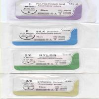 Quality Disposable Surgical Sutures 3/0 PGA purple color for sale