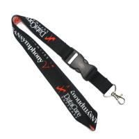Wholesale 900 X 25MM Woven Lanyards Cell Phone Neck Strap Environmental Protection from china suppliers